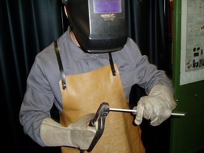 Arbeitsschutz beim Lichtbogenschweißen